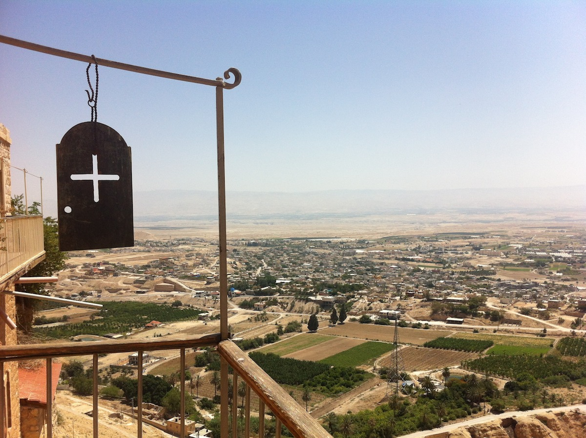 View across Jericho