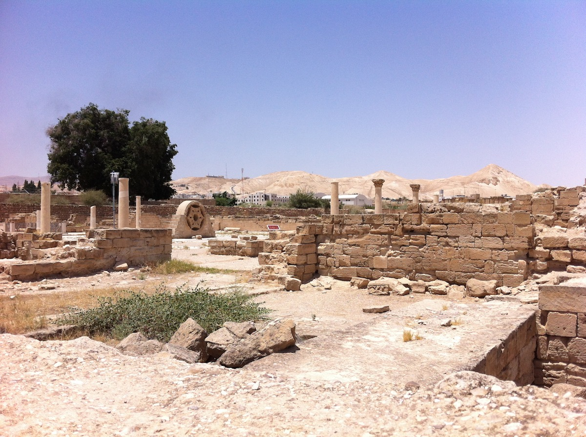 Temple ruins in Jericho